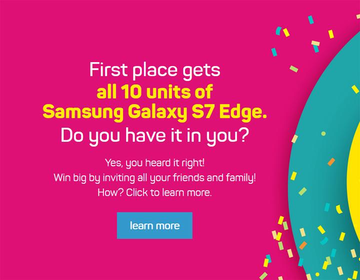 Bagaimana Nak Dapatkan 10 Buah Samsung S7 Edge Percuma?