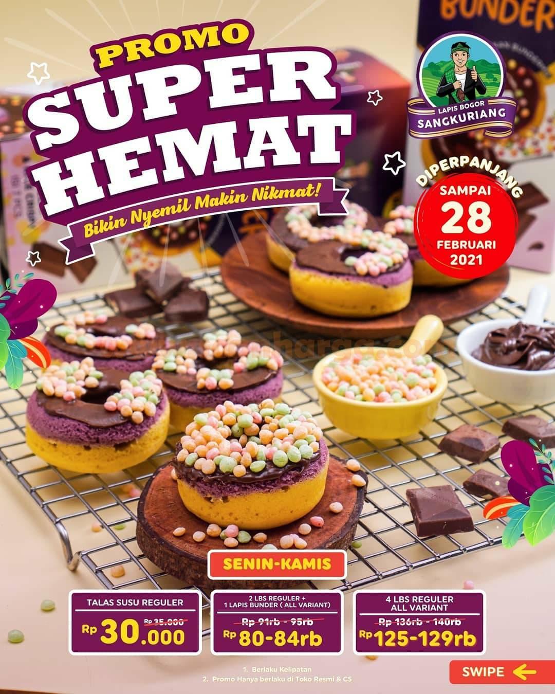 LAPIS BOGOR Promo Paket SUPER HEMAT! harga mulai 30Ribu-an