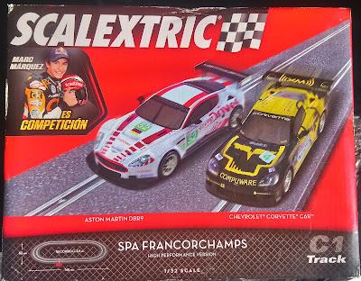 Circuitos: Scalextric Spa Francorchamps Tecnitoys