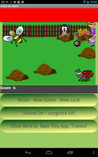 Catch the Mole Android App