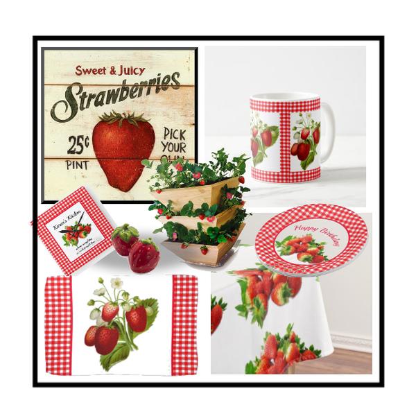 Fabulous Fashion And Decor Strawberry For Kitchen