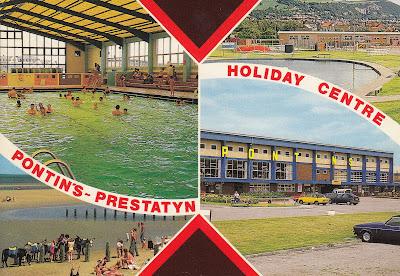 Pontin's Prestatyn Holiday Centre. Bamforth & Co. Ltd. 1987