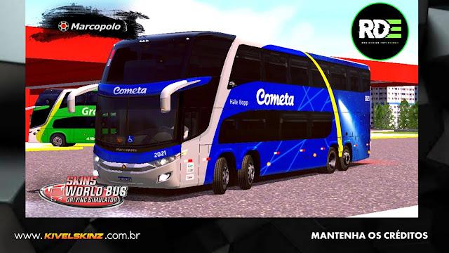 PARADISO G7 1800 DD 8X2 - VIAÇÃO COMETA