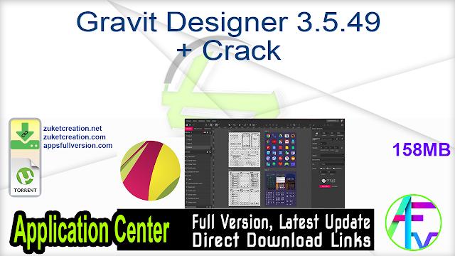 Gravit Designer 3.5.49 + Crack