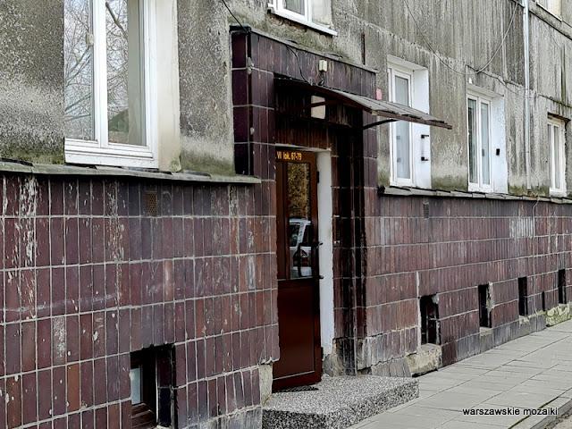 Warszawa Warsaw architektura architecture Żoliborz Edgar Norwerth lata 30 modernizm modernism Fundusz Kwaterunku Wojskowego FKW