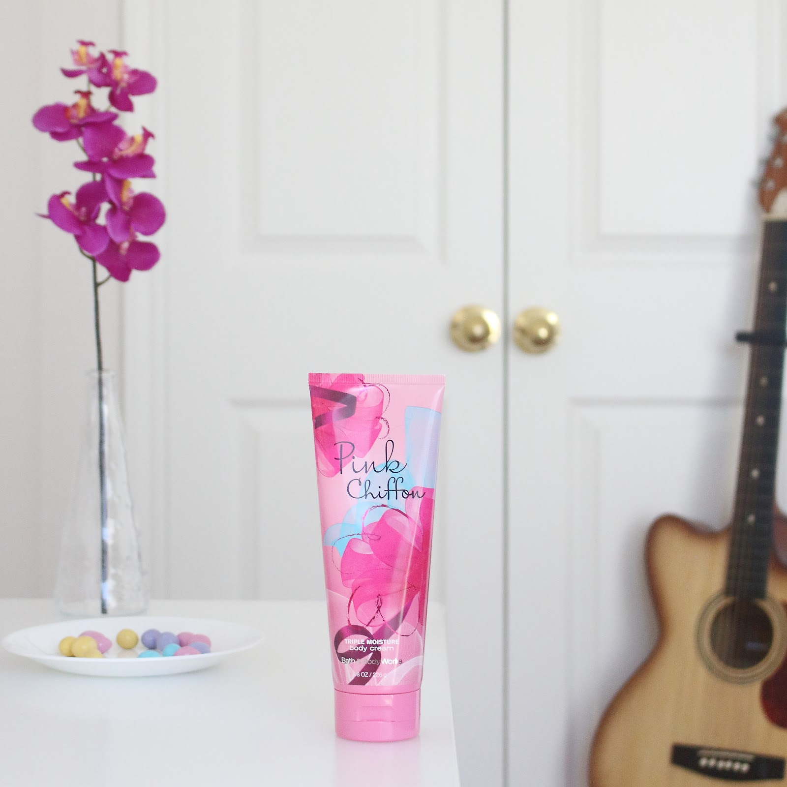 Bath and Body Works Pink Chiffon Triple Moisture Body Cream Product Review
