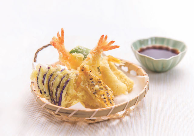 One of the dishes available to redeem from the Dine, Match & Redeem Promotion - Tempura Moriawase