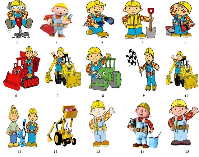 Bob el Constructor: Imágenes e invitaciones para imprimir gratis ...