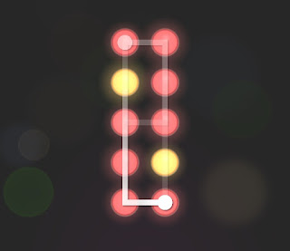 Solution, Cheats, Walkthrough for Neon Hack [Neon Dots] Level 34