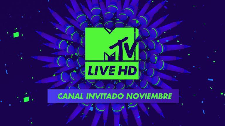 MTV Live HD gratis en noviembre
