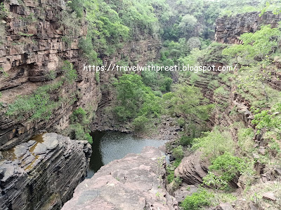 Nidan Kund and Waterfall, Damoh, Madhya Pradesh