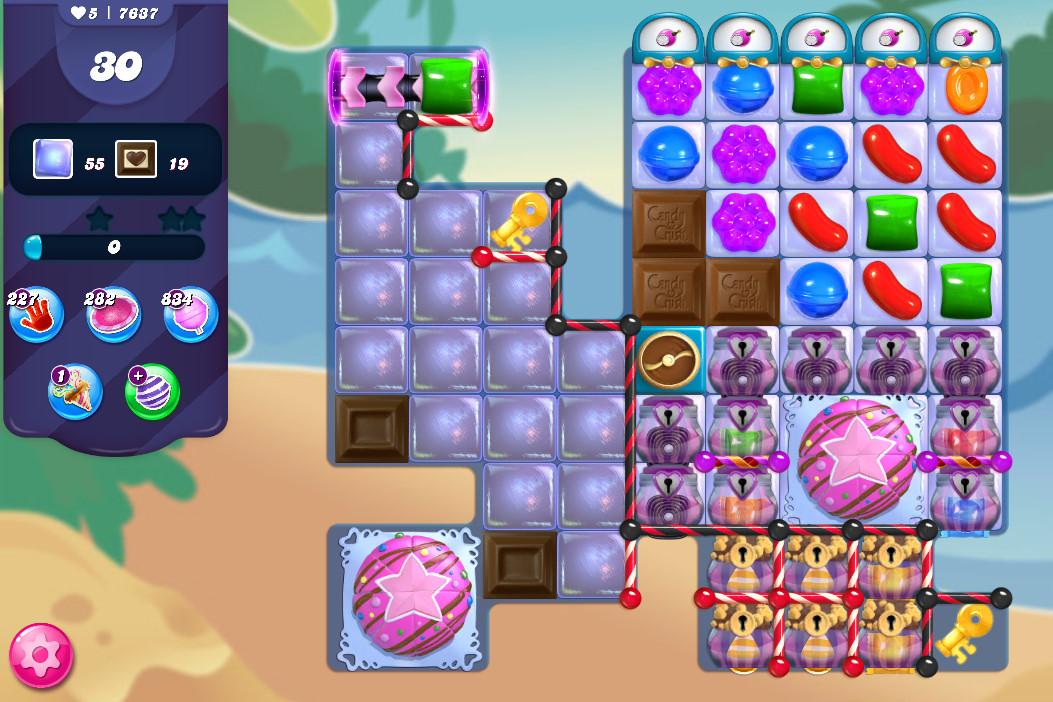 Candy Crush Saga level 7637