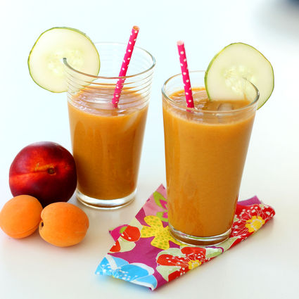Recette Jus nectarine, abricot et concombre