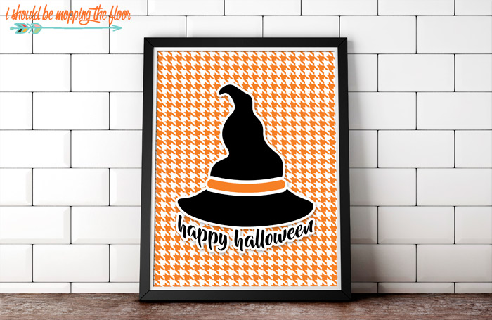 Orange and Black Halloween Printables