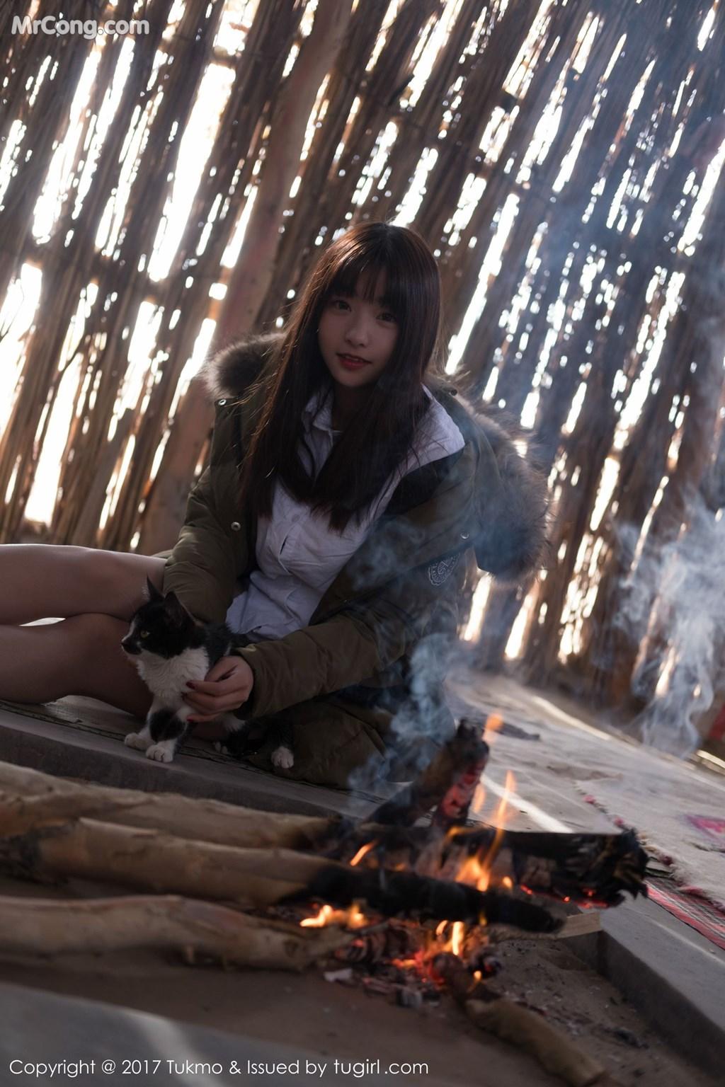 Image Tukmo-Vol.103-Qiu-Qiu-MrCong.com-003 in post Tukmo Vol.103: Người mẫu Qiu Qiu (球球) (43 ảnh)