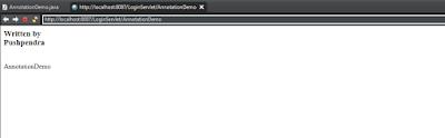 @WebInitParam annotation example