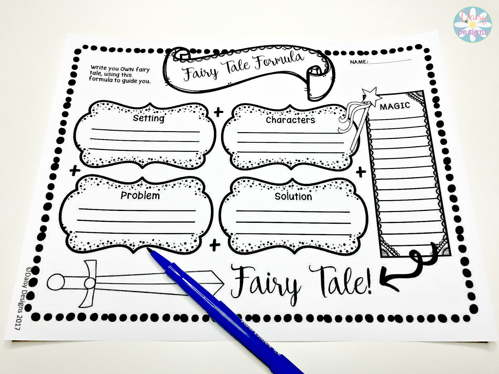 Daisy Designs: 7 Ways to Use Fairy Tales in the Classroom