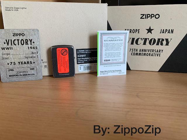 Ciri Zippo Orisinal Punya Kartu Garansi Bahasa Inggris