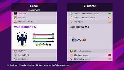 PES 2020 PS4 Option File Liga MX by Abel Petriz