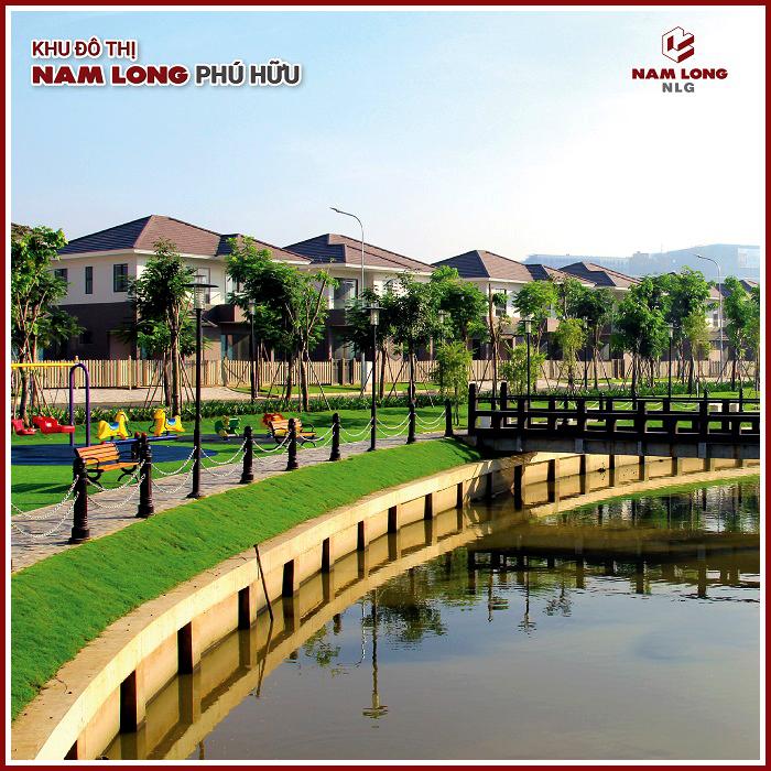 Biệt thự  khu đô thị Nam Long Phú Hữu