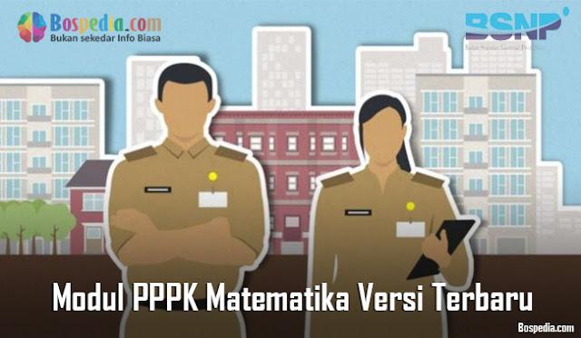 Modul PPPK Matematika Versi Terbaru