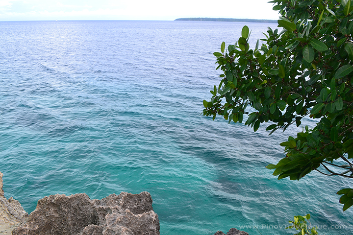 Turquoise waters of Salagdoong
