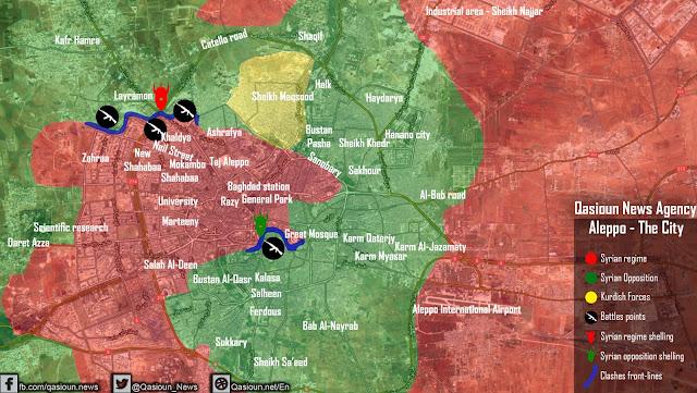 pertempuran di aleppo 13 juli 2016