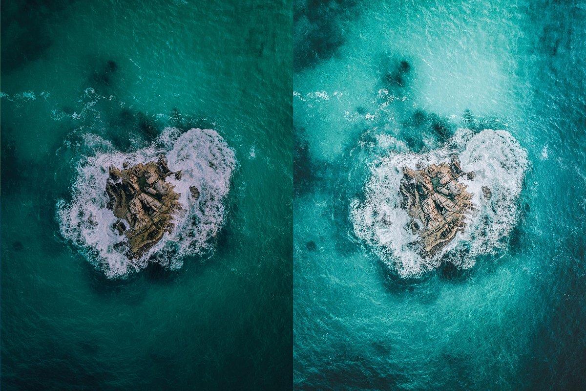 Preset Camera Raw & Mobile - Beach Vibes Presets ( XMP, DNG)