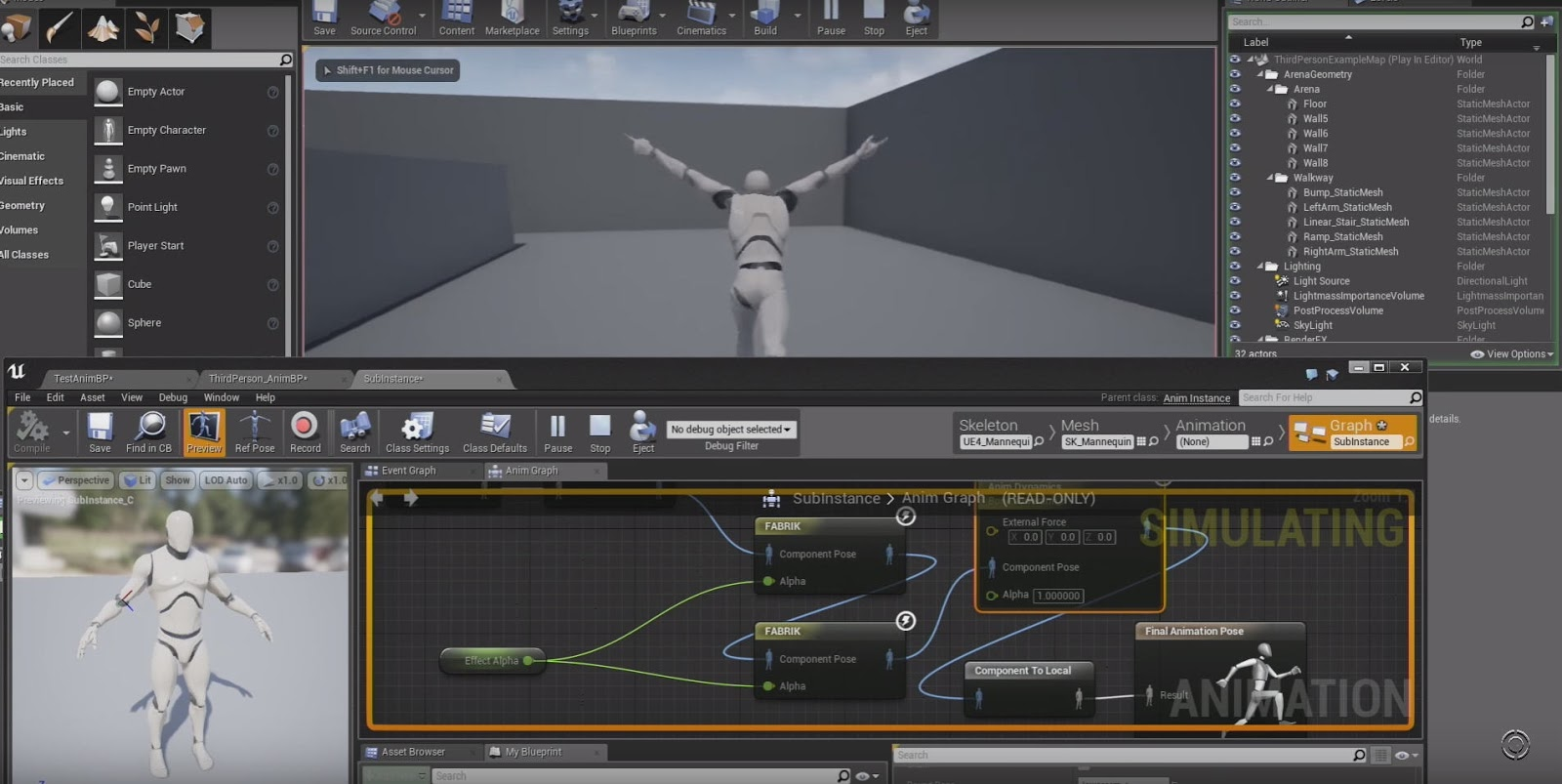 Unreal Engine 4 13 Animation Features   CG TUTORIAL