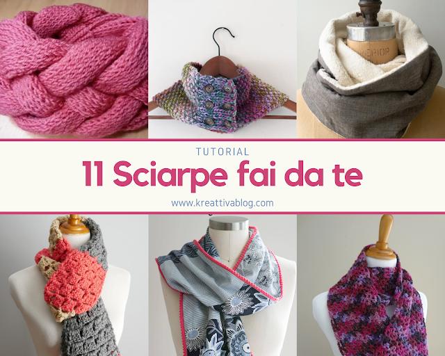 11 modi per fare sciarpe e scaldotti fai da te