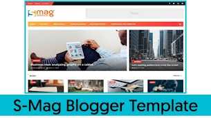 S-Mag Professional Blogger Theme Free Download - Responsive Blogger Template