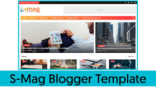 S-Mag Professional Blogger Theme Free Download