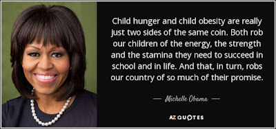 Quotes child life: Child hunger and child obesity are really just two sides of the same coin.