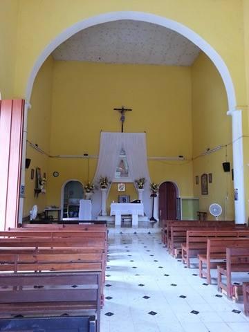 veneración a los patronos en Yucatán