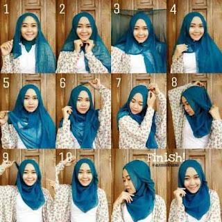 19+ Cara Memakai Hijab Untuk ke Kampus, Kuliah
