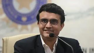 BCCI President, Sourav Ganguly