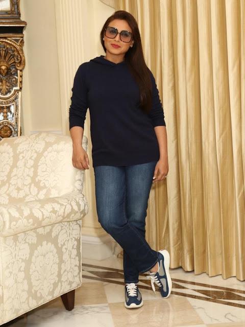 Actress Rani Mukharjee