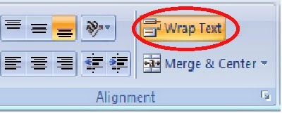 gambar ikon wrap text