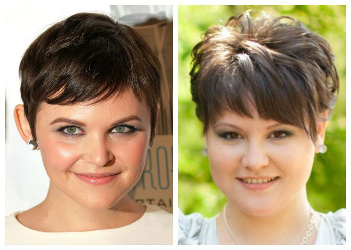 Stylish haircuts for obese women with a round face