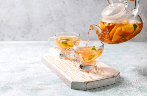 Benefits of white tea for slimming, nursing and skin