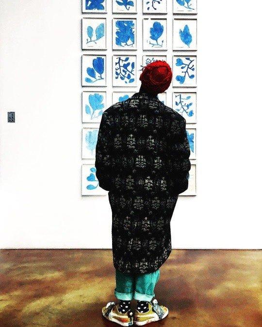 G-Dragon, sanata olan ilgisini gösterdi