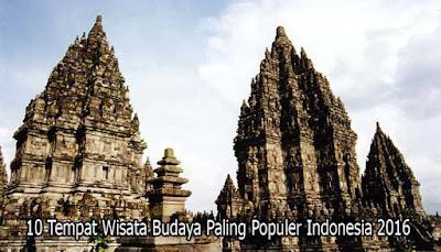 Tempat Wisata Budaya Candi Prambanan