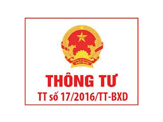 Thong tu so 17/2016 ve viec cap chung chi hanh nghe xay dung thi sat hach
