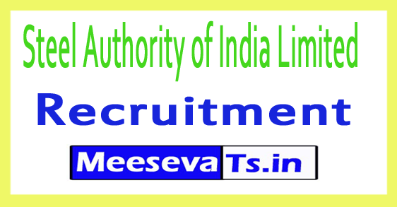 Steel Authority of India Limited SAIL Recruitment