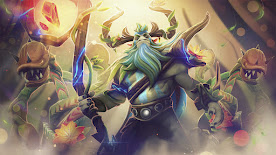 Natures Prophet DOTA 2 Wallpaper, Fondo, Loading Screen