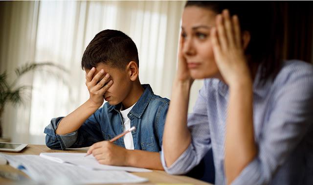 Alarmantes niveles de depresión y ansiedad entre niños y padres por clases en línea