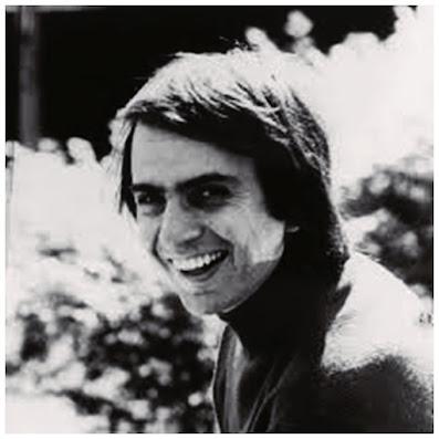 O astrofísico Carl Sagan mais jovem