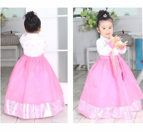 2409631bc Hanbok Girl 7016 Korean traditional Dress Korea Baby 1st birthday Party Kids