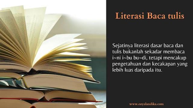 Literasi Baca tulis-ozyalandika