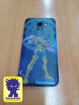 Amplio mi colección con una funda custom para móvil de CancerSaint